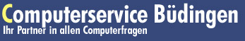 Computerservice Büdingen. Ihr Partner in allen Computerfragen